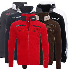 Geographical Norway Update hombre Chaqueta Polar Sudadera Con Capucha Suéter