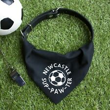 Newcastle Pet Bandana | football sup-paw-ter cats and dogs | United, Utd | gift