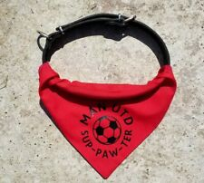 Man Utd Pet Bandana | for football sup-paw-ter cats and dogs | United | fun gift