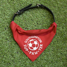 Southampton Pet Bandana | for football sup-paw-ter cats and dogs | FC | fun gift
