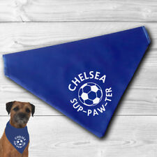 Chelsea Pet Bandana | for football sup-paw-ter cats and dogs | FC | fun gift