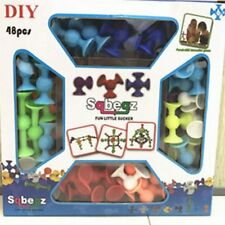 Squigz Sucker Cup Toys Building Children Educational Construction Silicone