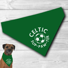 Celtic Pet Bandana | for football sup-paw-ter cats and dogs | FC | funny gift