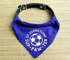 St Johnstone Pet Bandana | football sup-paw-ter cats and dogs | FC | fun gift