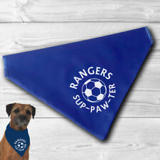 Rangers Pet Bandana | football sup-paw-ter cats and dogs | Glasgow FC, fun gift