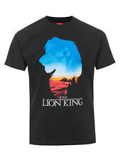 IL RE LEONE THE LION KING Kings WORLD T-SHIRT BLACK
