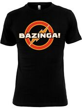 THE BIG BANG THEORY BAZINGA UNDERGROUND Logo Camiseta negra