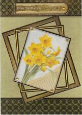 Spring Birthday Cards - Handmade - March, April, May, Flowers, Daffodil