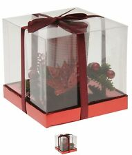 MODA Stanford Home Candle Centrepiece 71 Red