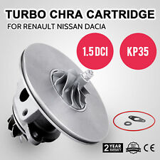 Turbocharger CHRA Cartridge 2000-2005 1.5 DCi KP35 For Renault Clio Pop