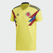 Colombia World Cup 2018 2019 Men Home Football Soccer Shirt Jersey CW1526 Yellow