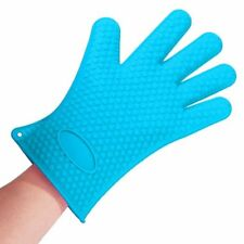 Silicone Cooking Gloves Heat Resistant Oven Mitt for Grilling BBQ Baking 1
