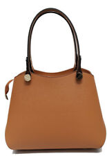 borsa donna in vera pelle made in italy nuova bag leather shopping tracolla