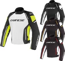 DAINESE Racing 3 D-DRY Uomo Giacca Motociclista IMPERMEABILE SPORT TOURING