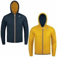 KWAY Uomo Giubbino JACQUES PLUS DOUBLE K002XP0 A77 BLUE D-YELLOW O ESTATE 2018