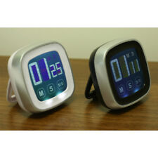 Timer Magnetic LCD Touch Screen Kitchen Countdown Count UP Alarm Clock