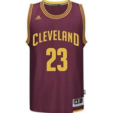 Maillot Swingman L. James Cleveland Cavaliers Basketball Bordeaux Homme Adidas