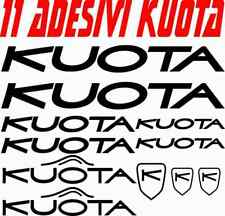 KIT 11 ADESIVI KUOTA BICI STICKERS KUOTA BIKE