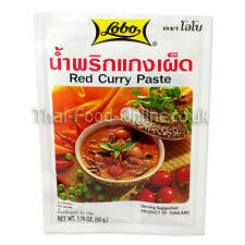 Authentic Imported Thai Red Curry Paste By Lobo ** UK Seller Quick delivery **