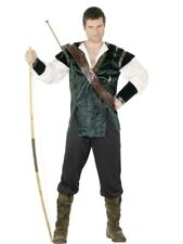 SALE Adult Medieval Deluxe Robin Hood Mens Fancy Dress Costume Stag Party Outfit