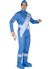 Adult 70s Kids TV Thunderbirds Scott Mens Fancy Dress Costume Stag Party Outfit