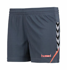 Hummel Damen Shorts Authentic Charge Poly Shorts Blau Sporthose