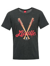 The Walking Dead Lucille Hombre Camiseta gris