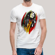 Bob Marley Reggae Rasta One Love Peace TShirt Inspired ShortSleeve Unisex Medium