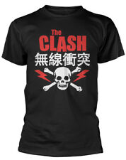 THE CLASH ' Bolt Rojo' T-SHIRT - Nuevo y Oficial