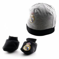 Real Madrid Gorro y Guantes Gris/Rosa/Negro Bebe