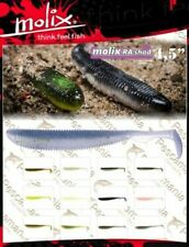Artificial spinning Molix Ra Shad cm 11,5 black bass lucio