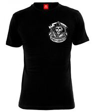 SONS OF ANARCHY SOA AMERICANO FUORILEGGE T-SHIRT MALE BLACK