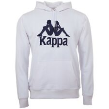 Kappa Unisex Hooded Sweatshirt white 705322 001