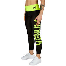 Venum Power Ladies MMA Leggings Gym Sports Yoga Martial Arts Pants Womens Spats