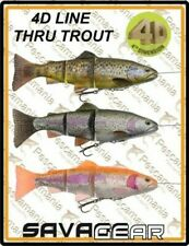 "Savage Gear ""4D TROUT LINEA THRU NADAR BAIT"" 20cm 93gr artificial spinning lucio"