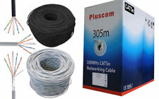 305M RJ45 Cat5e UTP Ethernet Network Cable Roll Modem ADSL Router Lead Outdoor