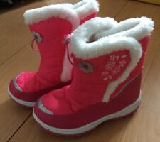 Board Angels Girls Pink Boots