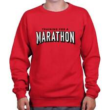Netflix Training Marathon Funny Shirt Cool Gift Binge Watch Pullover Sweatshirt