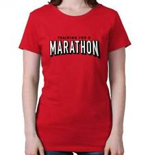 Netflix Training Marathon Funny Shirt Cool Gift Binge Watch Ladies Tee Shirt T