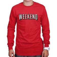 Weekend Netflix Marathon Binge-Watching Funny Gift Cool Cute Long Sleeve Tee