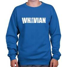 Whovian Funny Gift Dr Who TARDIS Cute Cool Edgy Sarcastic Gym Sweatshirt