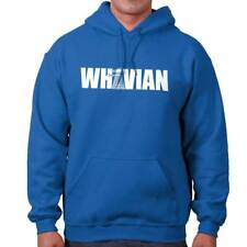 Whovian Funny Gift Dr Who TARDIS Cute Cool Edgy Sarcastic Gym Hoodie Sweatshirt