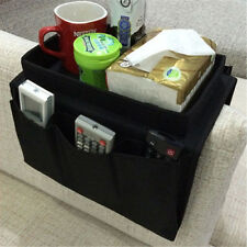 Armchair Organiser -Tray With Pockets Arm Rest Remote Control Holder 2 Colours
