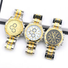 Fashion Men Watch Sport Wrist Watch Stainless Steel Analog Quartz Business Watch