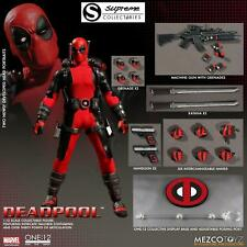 "Mezco One:12 Collective Deadpool 1/12th Scale Action Figure 6""/17cm MARVEL COMIC"