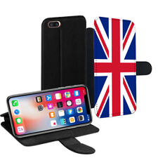 Union Jack Flag PU Leather Stand Wallet Case for Apple iPhone Models - 0228