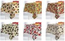 """Premium Tablecloth for Outdoor or Indoor Use (60"""" X 84"""", Rectangular)"""