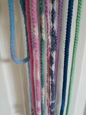 ROPE DOG  LEAD - MADE IN THE UK - Small - Med - OMBRE / TIE DYE - CLIP OR SLIP