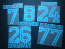 KIT NOME+NUMERO UFFICIALE SSC NAPOLI AWAY 2015-2016 OFFICIAL NAMESETS