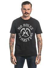 SONS OF ANARCHY NO RULES Nú MASTERS Camiseta Hombre Negro